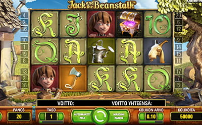 Jack and the Beanstalk Dunder Casinolla