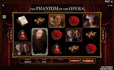 Phantom of the Opera Casinohuoneella