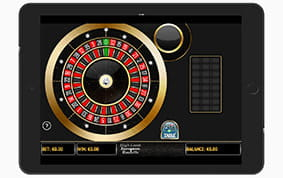 Playing at 888 Casino on iPad